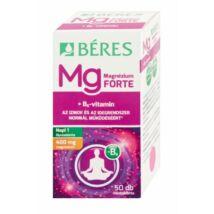 BÉRES Magnézium 400mg + B6 Forte filmtabletta (50x)