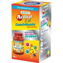 BÉRES ACTIVAL KID gumivitamin + ajándék gyurma 50x
