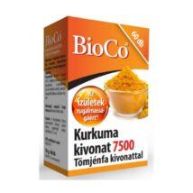 BIOCO Kurkuma kivonat 7500 tömjénfa kivonattal kapszula (60x)