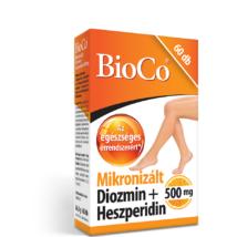 BIOCO Mikronizált diozmin + heszperidin filmtabletta (60x)