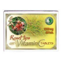 DR.CHEN Natúr C-vitamin Csipkebogyóval 1200mg tabletta (80x)