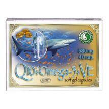 DR.CHEN Omega-3 halolaj kapszula Q10-koenzimmel és E-vitaminnal (40x)