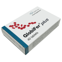 GLOBIFER Plus vas folsav tabletta 40x