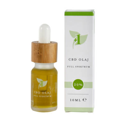 +1 CBD OIL 10ml 20% 2000mg