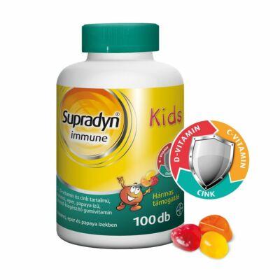 SUPRADYN Immune Kids narancs-eper ízű gumivitamin (100x)
