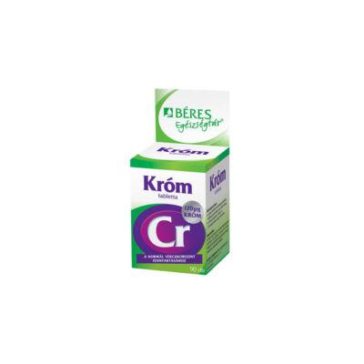BÉRES Egészségtár Króm tabletta 90x
