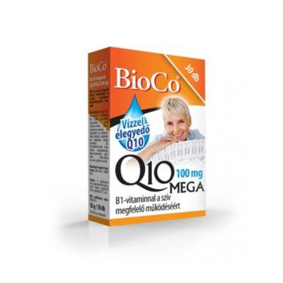 BIOCO Vízzel elegyedő Q10 MEGA 100mg + B1-vitamin kapszula (30x)