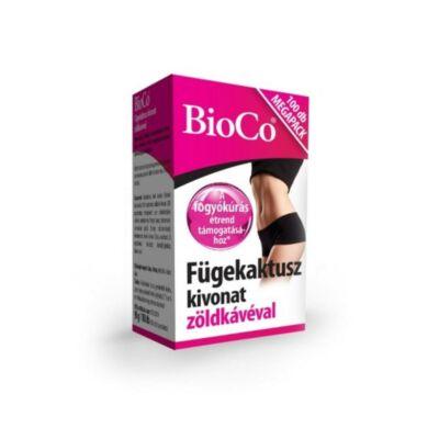 BIOCO Fügekaktusz kivonat zöldkávéval tabletta MEGAPACK (100x)