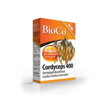 BIOCO Cordyceps 400mg hernyógomba kivonat tabletta (90x)
