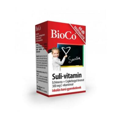 BIOCO Suli-vitamin citrom ízű rágótabletta (60x)