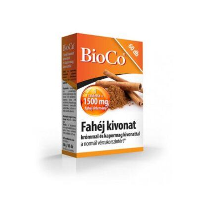 BIOCO Fahéj kivonat krómmal és kapormag kivonattal tabletta (60x)