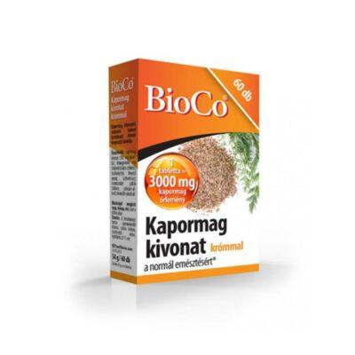 BIOCO Kapormag kivonat krómmal tabletta (60x)
