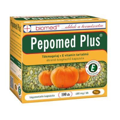 BIOMED Pepomed Plus tökmagolaj kapszula (100x)