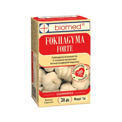 BIOMED Fokhagyma FORTE kapszula (30x)