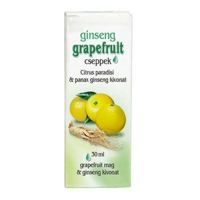 DR.CHEN Grapefruit cseppek Ginseng gyökér kivonattal (30ml)
