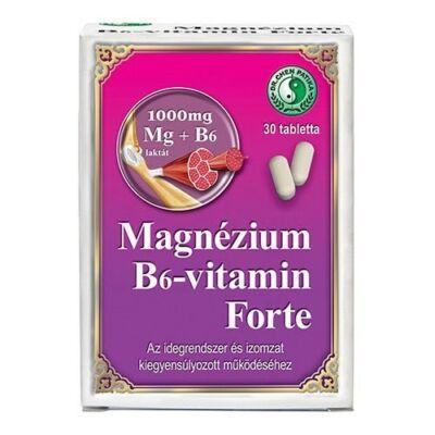 DR.CHEN Magnézium B6-vitamin FORTE tabletta (30x)