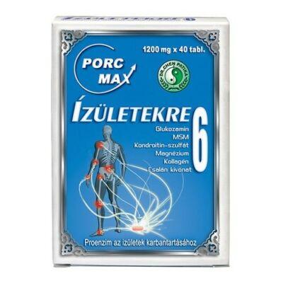 DR.CHEN Porc-Max ízületekre 6 tabletta (40x)
