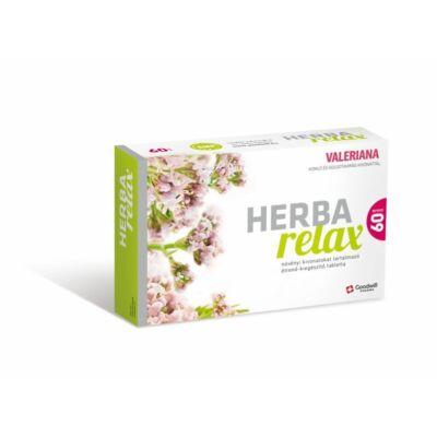 HERBA RELAX Valeriana növényi kivonatokat tart. tabl. (60x)