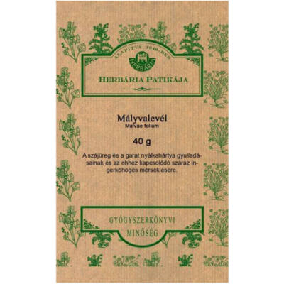 HERBÁRIA Mályvalevél (Malvae folium) tea 40g