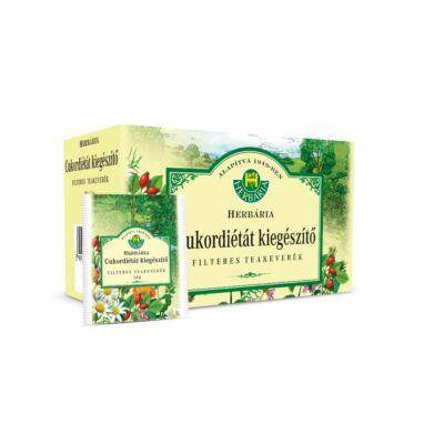 HERBÁRIA Cukordiétát kiegészítő borítékolt filteres teakeverék (20x) - 829 Ft