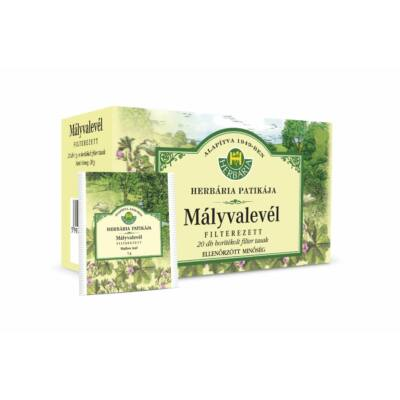 HERBÁRIA Mályvalevél (Malvae folium) borítékolt filteres tea (20x) - 979 Ft