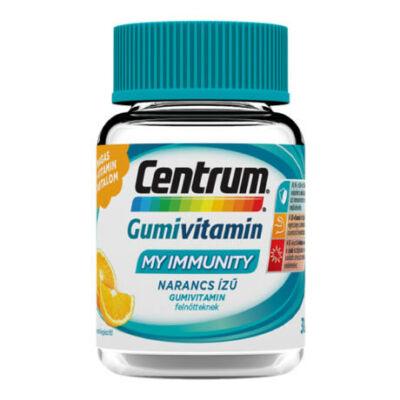 CENTRUM MY IMMUNITY felnőtt gumivitamin narancs 30x